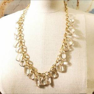 NEIMEN MARCUS LeeAngel 'Ice Queen' lucite necklace